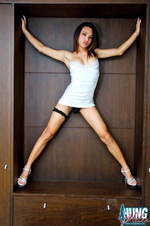 Asian Ladyboy Hung Helen!