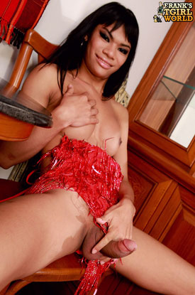 Ladyboy June on Frank's Tgirl World!