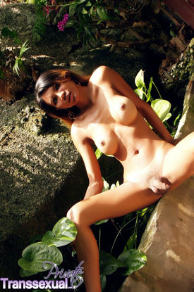 Asian Ladyboy JeJe on Private Transsexual!