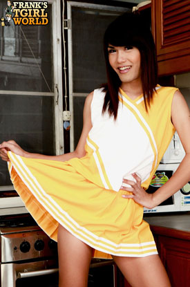t maya frankstgirlworld 02 Get In The Spirit With Asian Ladyboy Maya On Franks Tgirl World!