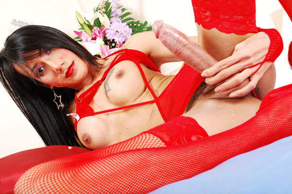 Asian Ladyboy Nadia at Tranny Box!