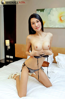 Asian Ladyboy Opor at Shemale Asia!