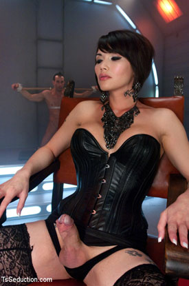 Asian Ladyboy Eva Lin!