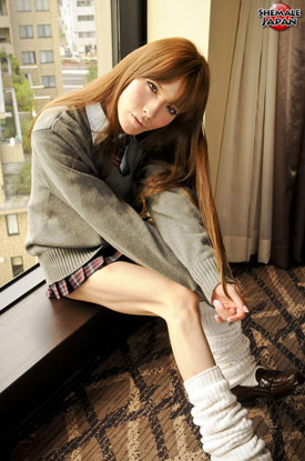 Asian Ladyboy Lisa at Shemale Japan!