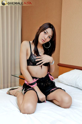 t asian ladyboy dook 02 Asian Ladyboy Dook Strips Down On Shemale Asia!