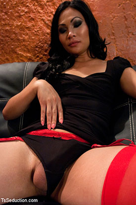 Asian Ladyboy Annalise Rose!
