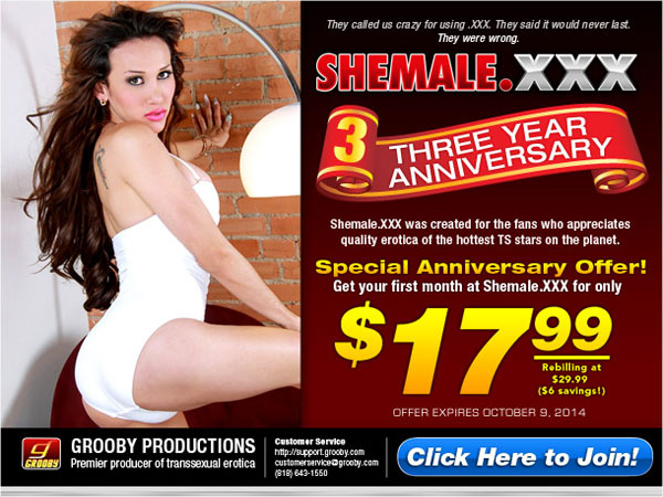 shemalexxx ashley paleta Celebrate Three Years Of Awesome Girls At Shemale XXX!