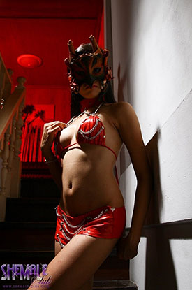 t asia ladyboy poon 01 Mysteries And Mask On Asian Ladyboy Poon On Shemale Club!