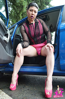 Asia Ladyboy Blog presents Krissy4u - Naughty Asian Tgirl!