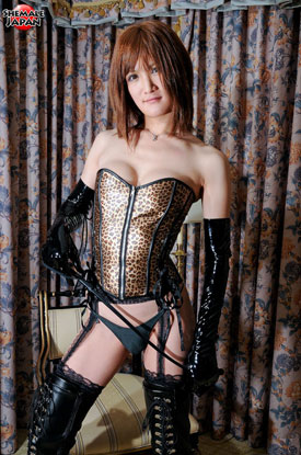 Asian Ladyboy Kanon at Shemale Japan!