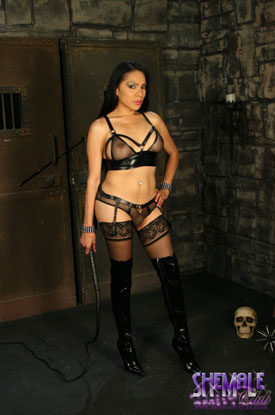Melissa Raven at Shemale Club!